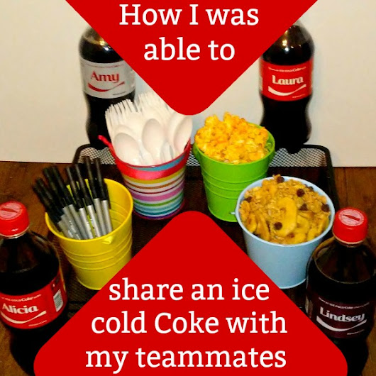 How I was able to share an ice cold Coke with my office team