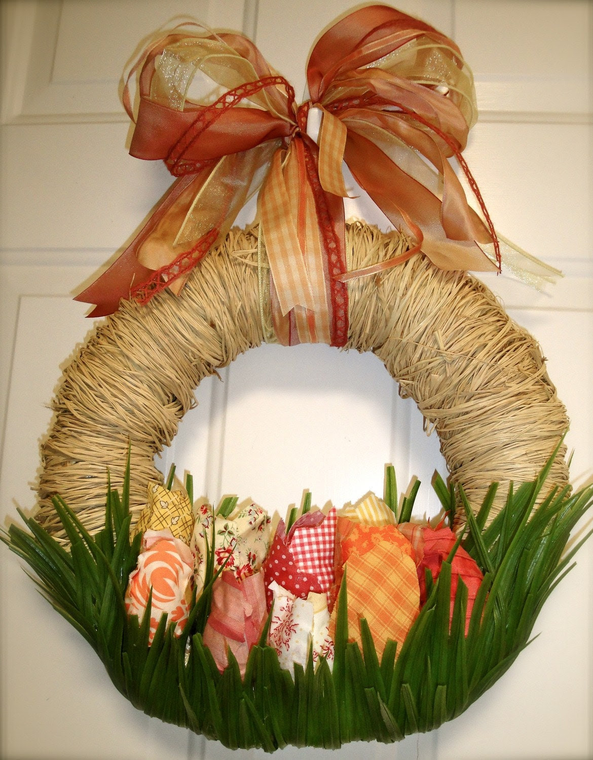 Spring Wreath, Tillie's Tulips Wreath Easter
