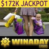 WinADay $172K Slot Games Jackpot Won by Young Mother on Maternity Leave