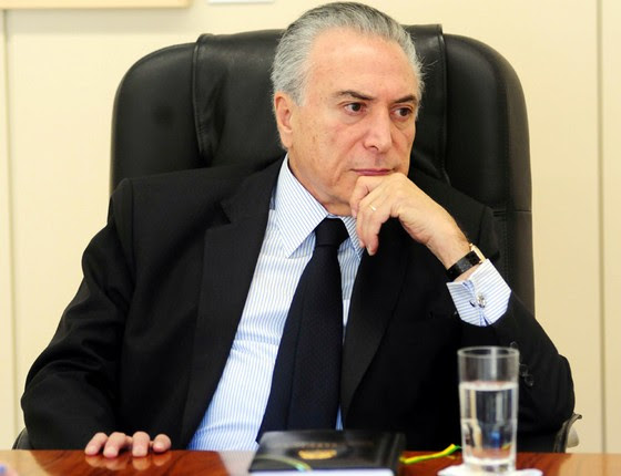 O vice presidente Michel Temer (Foto: Bruno Peres/CB/D.A Press)