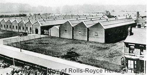 Rolls-Royce Motor Works Derby 1910
