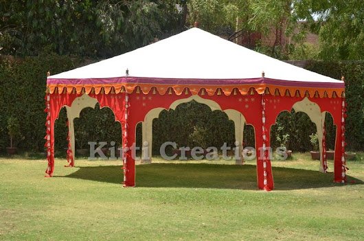 Traditional Luxury Tents – Raj Tent
