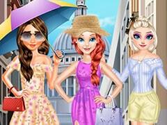 أزياء الأميرة الصيفية