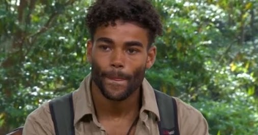 The star was voted out of the jungle #ImACeleb
