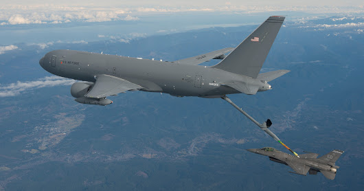 Boeing's KC-46 Tanker Completes First Refueling Flight