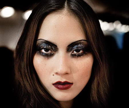 Christian Dior Eyes Makeup by Path McGrath for fall 2008