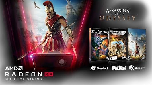 "AMD Announces ""Raise the Game"" Bundle: with 3 Unreleased Games"