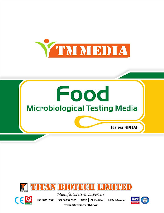 Food microbiological testing media
