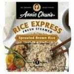 Annie Chuns 21421 Annie Chuns Rice Express Sprouted Brown Rice - 6x6.3 Oz