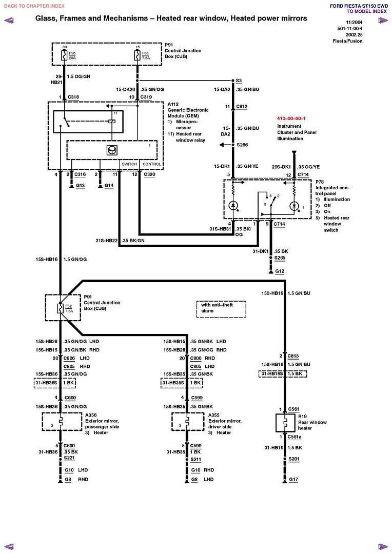 Aamidis Blogspot Com  Ford Fiesta St 150 Wiring Diagram