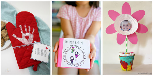 10 Adorable Mother's Day Crafts for Kids