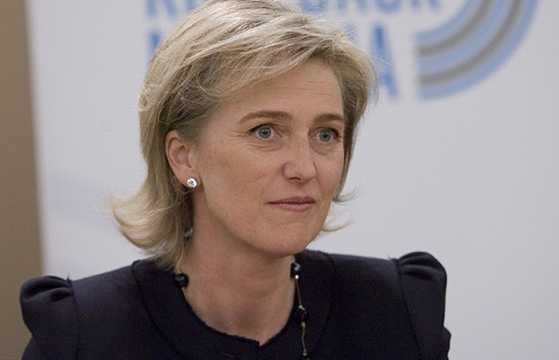 OTTAWA, ONT.: APRIL 16, 2010 PRINCESS--Princess Astrid of Belgium is visiting Canada to raise awareness about malaria. She is the Special Representative for the Roll Back Malaria Partnership. She arrived on Parliament Hill this morning, calling for increased action in the fight against this controllable and treatable disease that takes a million lives a year. PHOTO by PAT McGRATH--THE OTTAWA CITIZEN) for NATIONAL standalone ASSIGNMENT NUMBER 99483