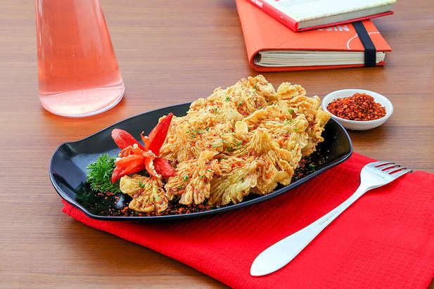 Jamur Crispy Tabur Boncabe Resep Dari Dapur Kobe