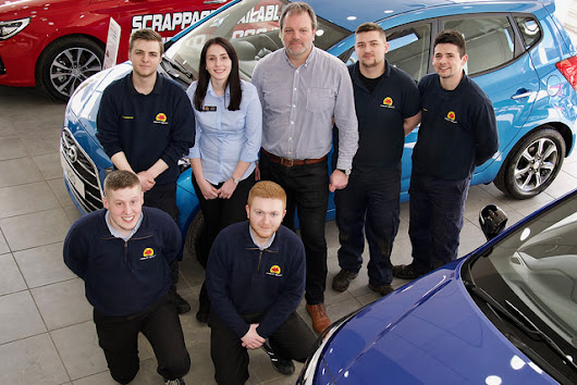 Invest in apprentices and get the perfect team says local motor dealer