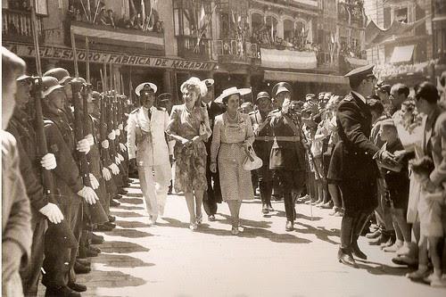 Eva Perón en Toledo, 1947 (Fotografía Rodríguez)