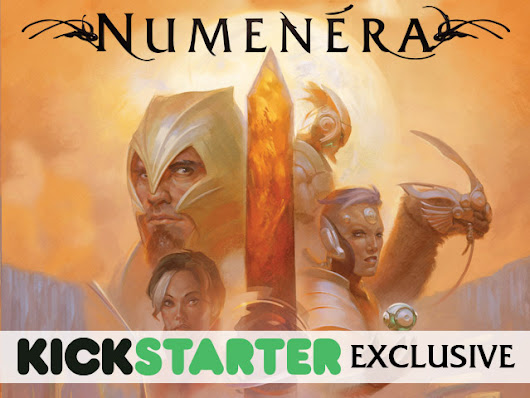 Exclusive Numenera Boxed Set Edition by Monte Cook Games — Kickstarter