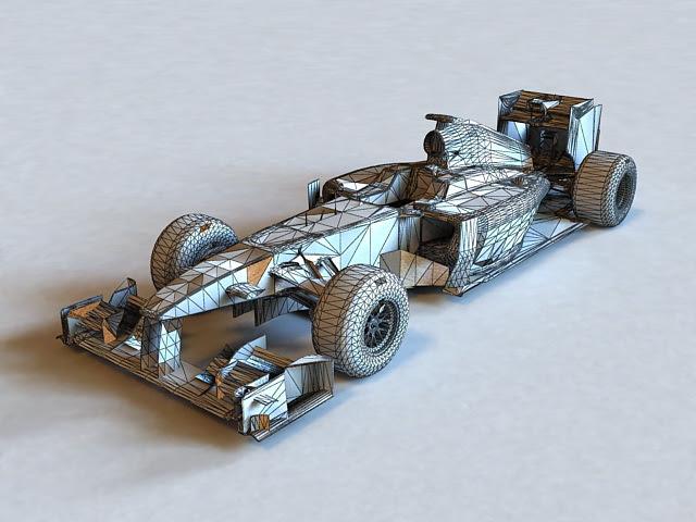 Lotus F1 Car 3d Model Cadnav - f1 car 3d model free download