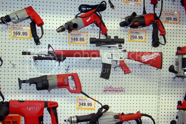 Milwaukee Power Tools AR-15