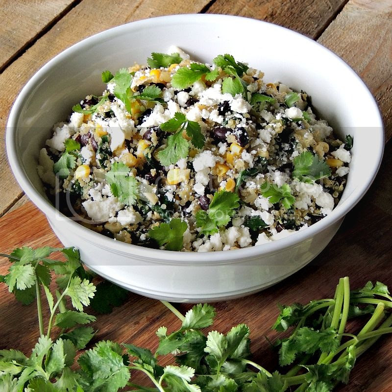 Tex-Mex Black Bean Quinoa Salad