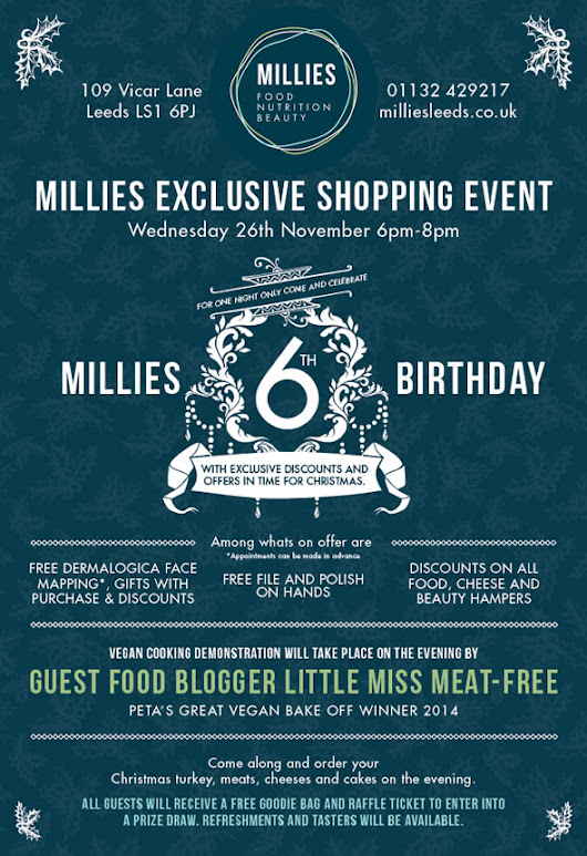 Millies 6th Birthday & Exclusive Shopping Event