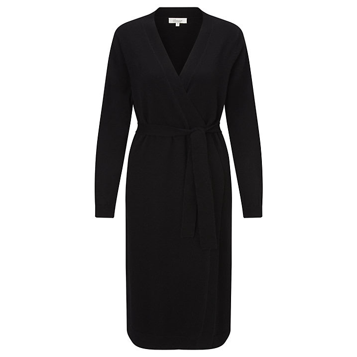 Buy Somerset by Alice Temperley Cashmere Robe, Black, S Online at johnlewis.com