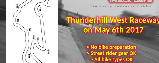 Track Day, Thunderhill West (incl turn 8-10) – Superbike-Coach Corp