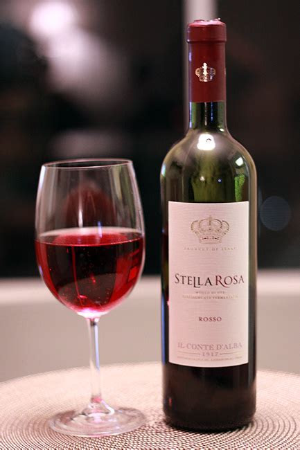 This wine is served cold and it has carbonation is almost
