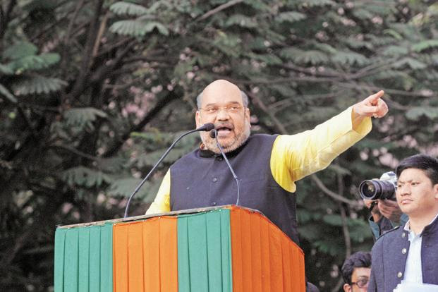 A file photo of BJP president Amit Shah. Photo: Indranil Bhoumik/Mint