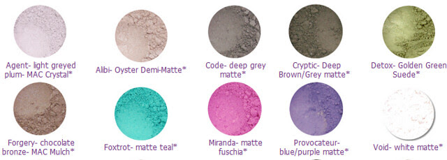 Silk Naturals Eye Spy Eyeshadows