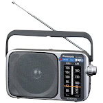 Panasonic RF-2400 Portable Radio - Silver