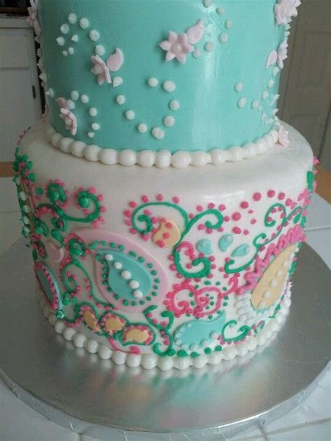 Best 20  Paisley Cake ideas on Pinterest   Henna cake