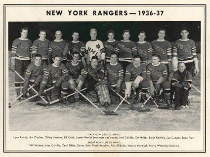 1936-37 New York Rangers team photo 1936-37 New York Rangers team.jpg