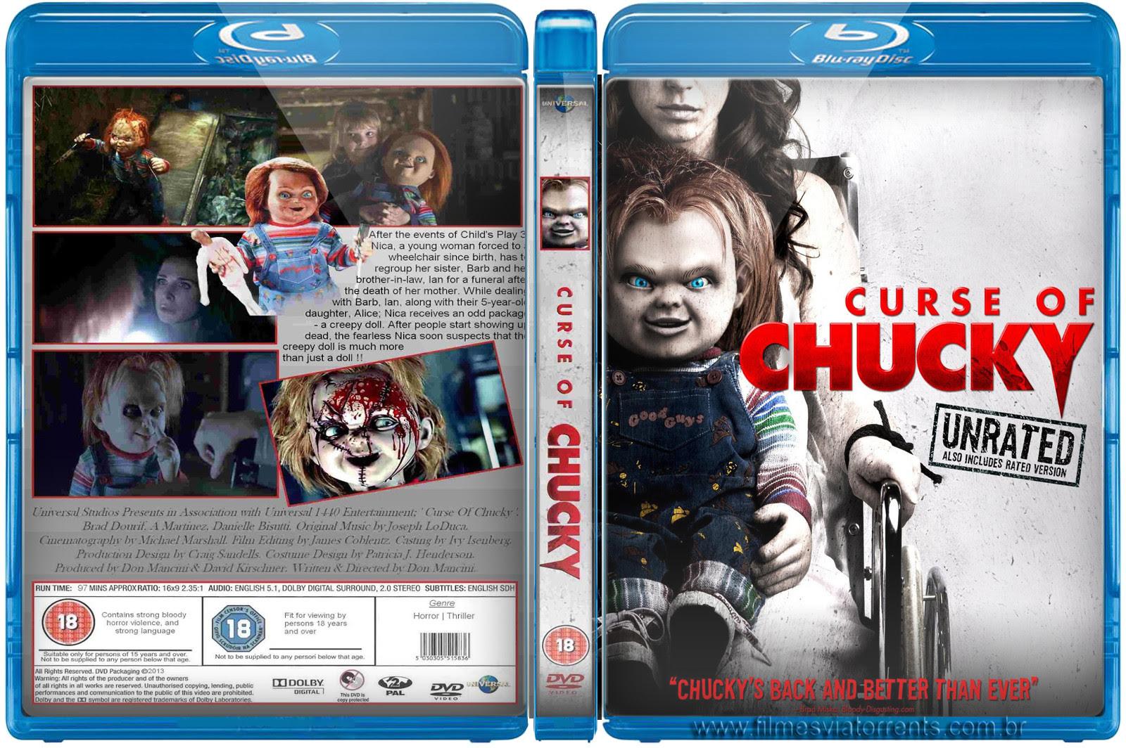 Capa A Maldição de Chucky, Poster Curse of Chucky - Unrated