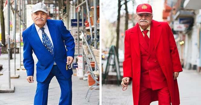 Fotógrafo passa 3 anos registrando imagens de idoso que ia trabalhar cheio de estilo