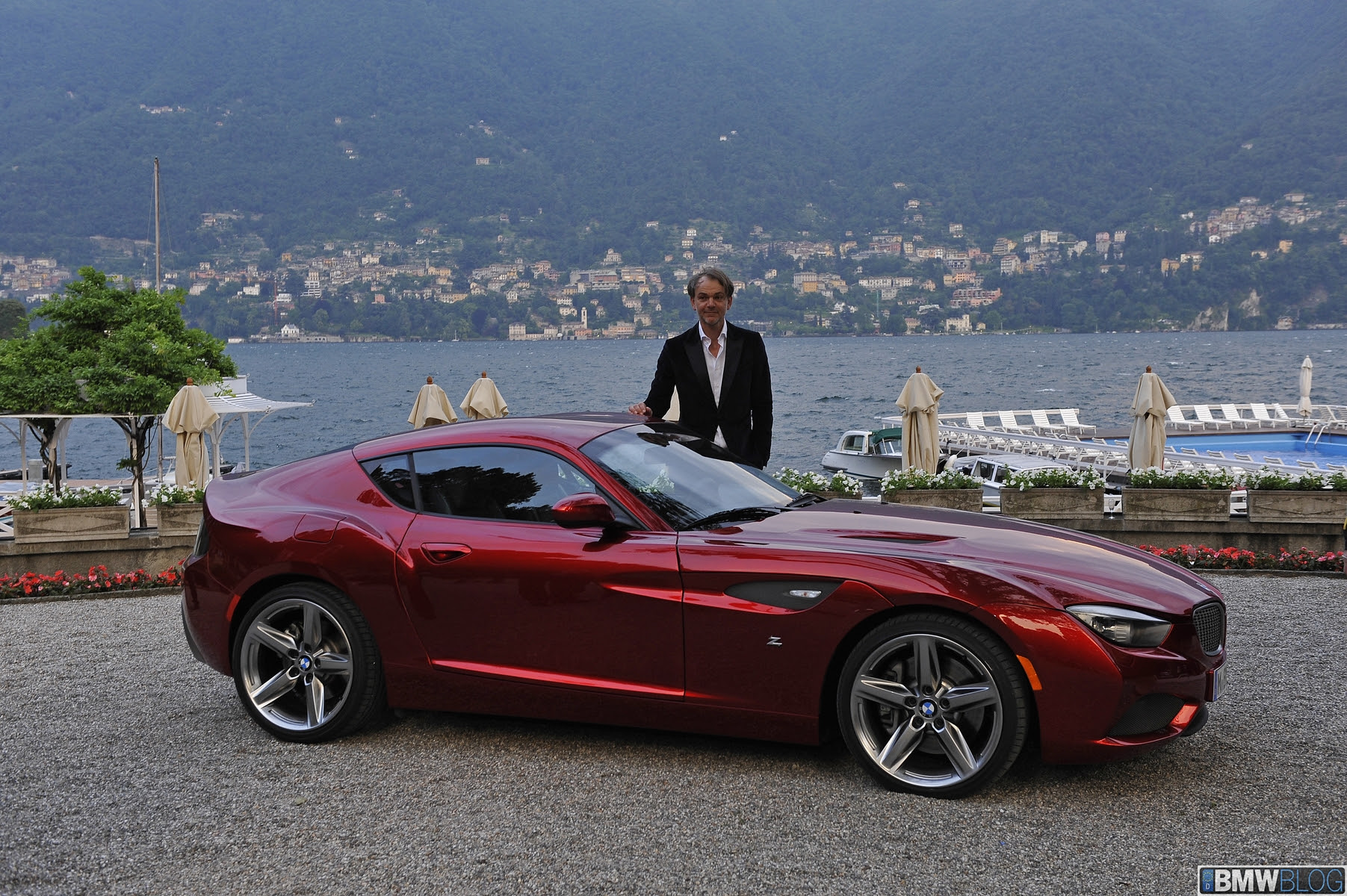 Real Life Video: BMW Zagato Coupe with engine noise (400 hp)