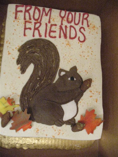 Squirrel Cake