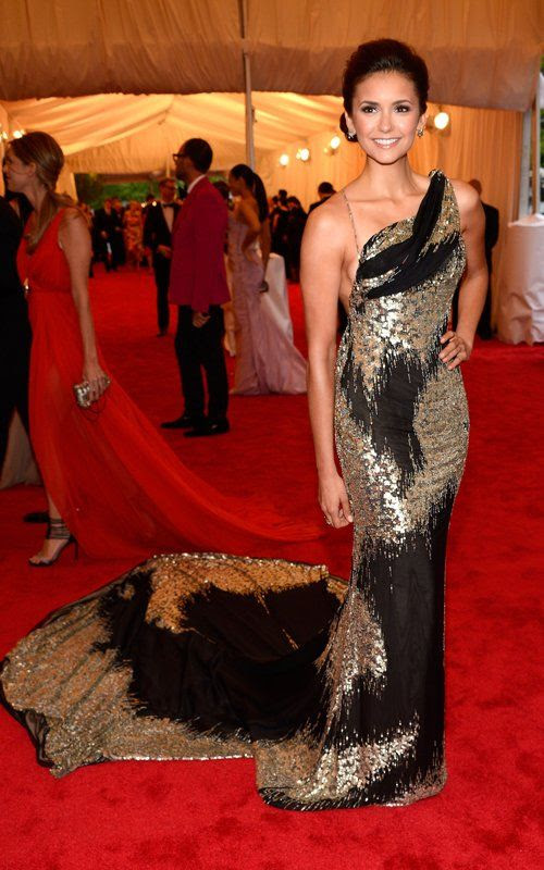 Costume Institute Gala Met Ball - May 7, 2012, Nina Dobrev