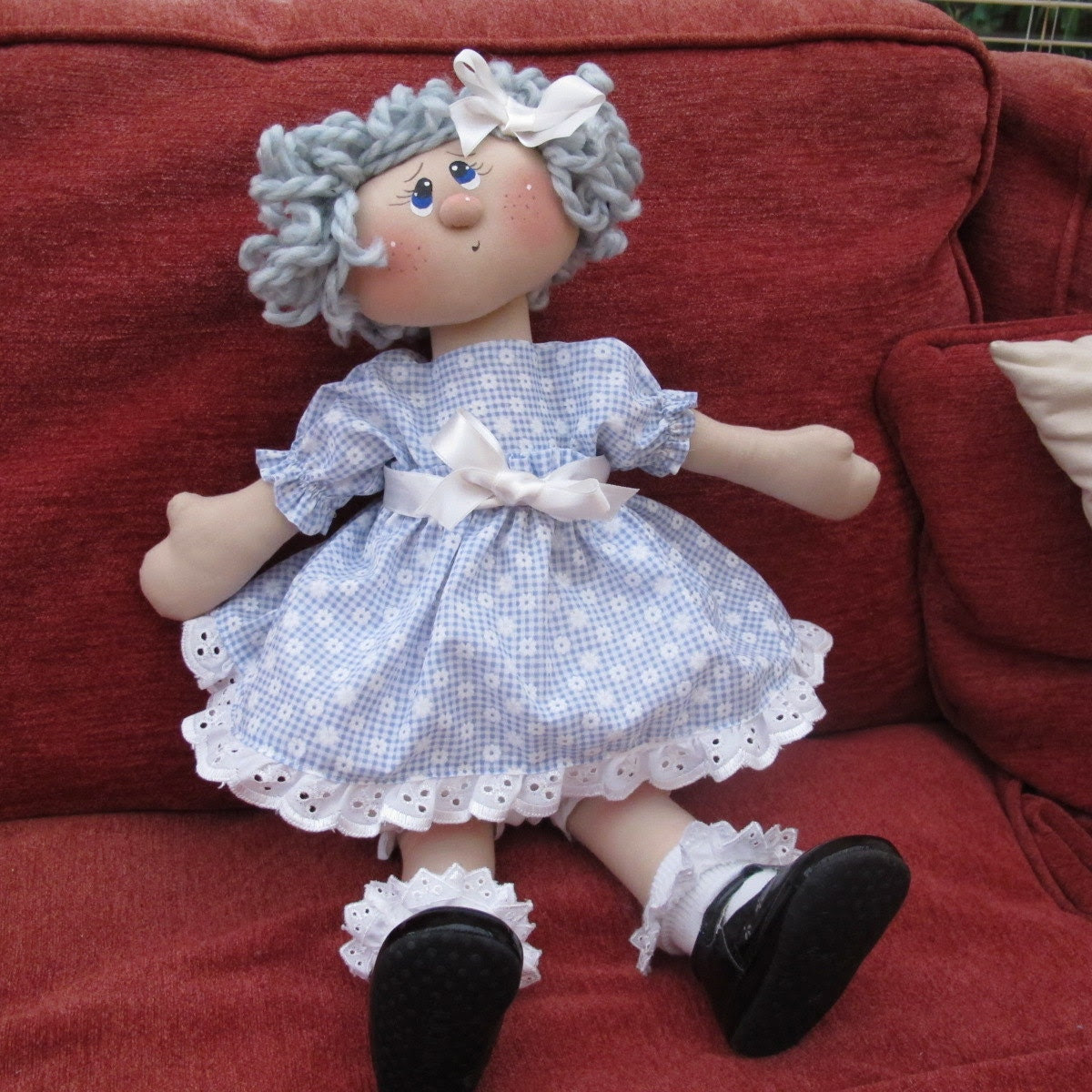 Rag Doll - in Dress, Custom Made