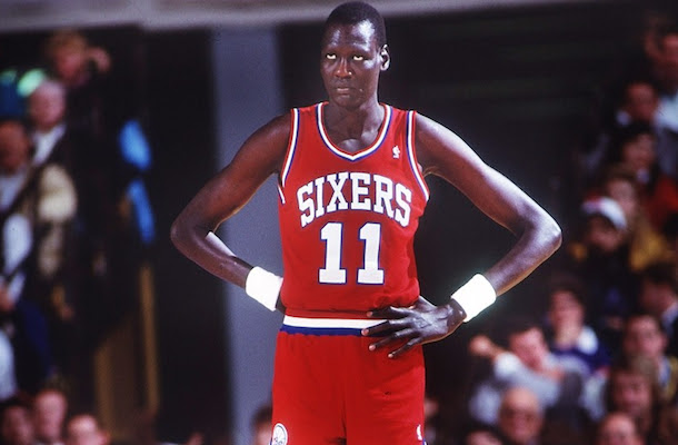 c94d08ce5 THE LEGENDARY NBA`S TALLEST PLAYER MANUTE BOL  THE ICONIC SOUTH ...