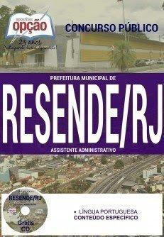 Apostila Assistente Administrativo Prefeitura de Resende - RJ