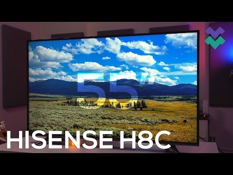 Hisense H55N5500 - cheap big screen TV for Black Friday