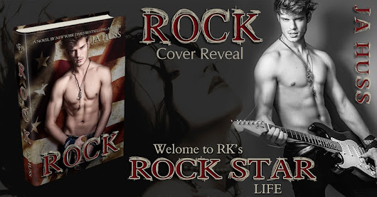 Cover Reveal and Giveaway: Rock by J.A. Huss