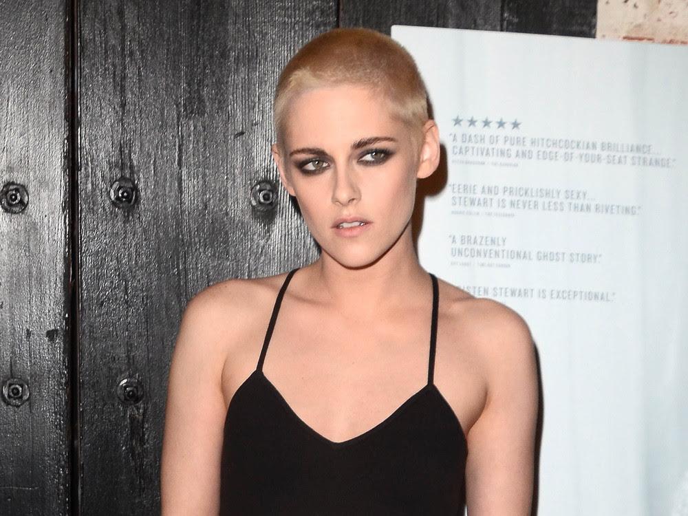 Kristen Stewart Platinblond Und Kurz Der Heißeste Hairstyle Des