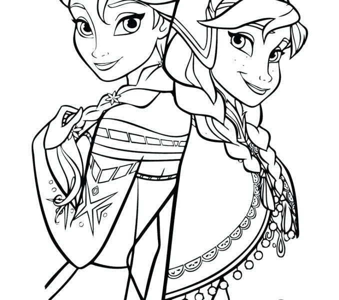 Easy Princess Coloring Pages at GetColorings.com | Free ...