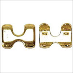 """7/8"""" High Density Solid Brass Rope Clamp Horse Western Tack Saddle 2 Pcs."""