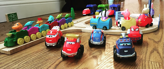 Mini Toy Vehicles Giveaway