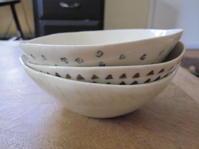 Eggshell bowls