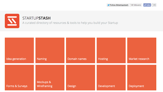 A curated directory of 400 resources & tools for startups