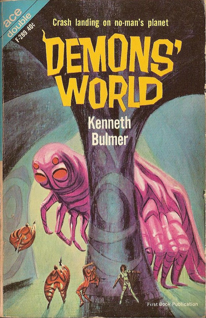 Jack Gaughan cover art - Kenneth Bulmer - Demons' World