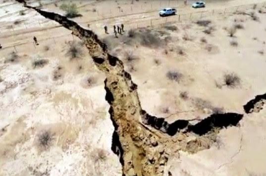 Η Γη άνοιξε στα δύο! Ρωγμή-μυστήριο στο Μεξικό (βίντεο)